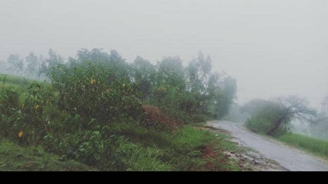 अमेठी: जमकर बरसा पानी, कहीं खुशी कहीं परेशानी