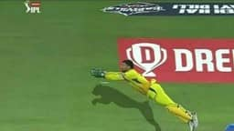 ms dhoni takes superman catch against delhi capitals photo-twitter
