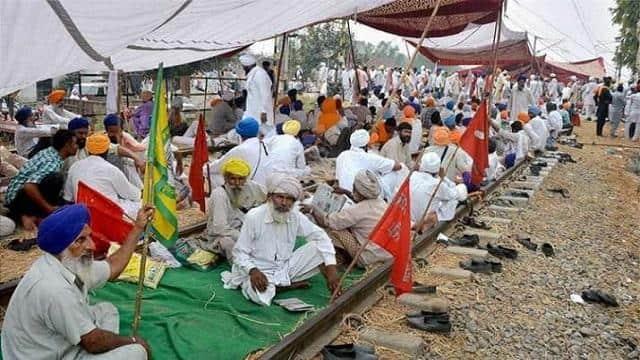 Rail Roko Andolan LIVE: किसानों का रेल रोको आंदोलन आज, रेलवे पूरी तरह अलर्ट पर