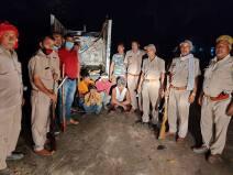 सोहगीबरवा सेंक्चुरी: दो जंगली सियार और कछुआ के साथ चार शिकारी गिरफ्तार