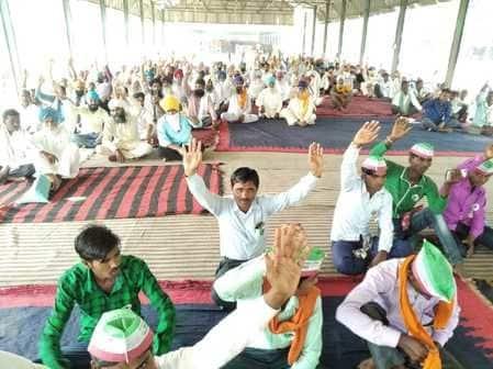 किसानों के धान खरीद व गन्ना भुगतान की समस्याओं के प्रति प्रशासन की अनदेखी के चलते भारतीय किसान मजदूर संगठन के बैनर तले मैगलगंज मंडी समिति में...
