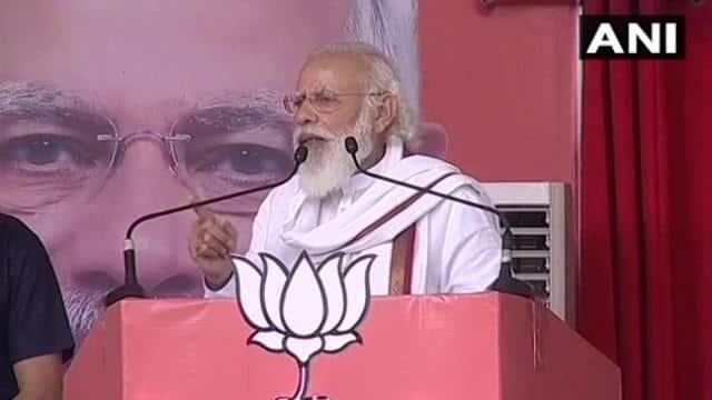 पटना रैली में PM बोले- दलितों-पिछड़ों का हक हड़पने वाले क्या बिहार की उम्मीदों को समझ पाएंगे?