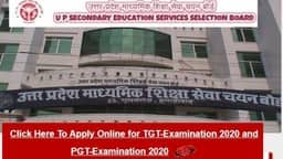 upsessb up tgt pgt recruitment 2020