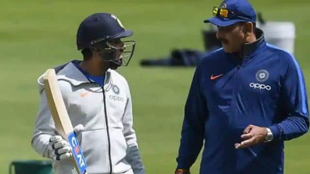india vs australia Ravi Shastri says Rohit sharma and Ishant sharma need to  be on the Australia flight as soon as possible - IND vs AUS: रवि शास्त्री  ने कहा, रोहित-ईशांत शर्मा