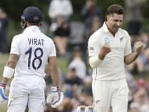टेस्ट सीरीज से बाहर हुए ग्रैंडहोम, तीसरे टी20 में सैंटनर होंगे कप्तान