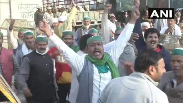 Farmers protest at Delhi 4th day live updates Farmers ...