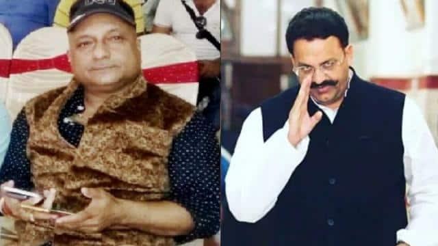 ganesh dutt mishra close to mukhtar ansari