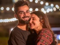 भारत की जीत पर प्रेग्नेंट अनुष्का ने 'अपने प्यार' विराट को दी बधाई