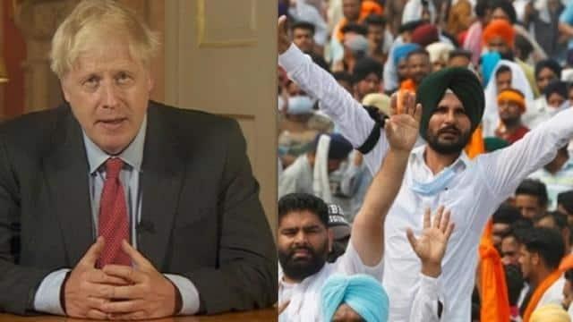ब्रिटेन की संसद में उठा किसान आंदोलन का मुद्दा; कन्फ्यूज प्रधानमंत्री बोरिस जॉनसन बोले, यह भारत-पाकिस्तान का मामला