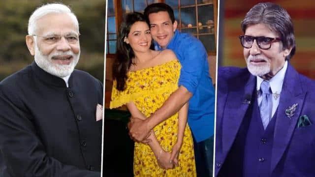 PM नरेंद्र मोदी और अमिताभ बच्चन ने आदित्य नारायण-श्वेता अग्रवाल को लेटर लिखकर दी शादी की बधाई