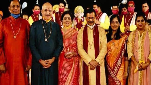 aap govt spent rs 6 crore on diwali laxmi puja event in delhi  activist cites rti reply  file photo