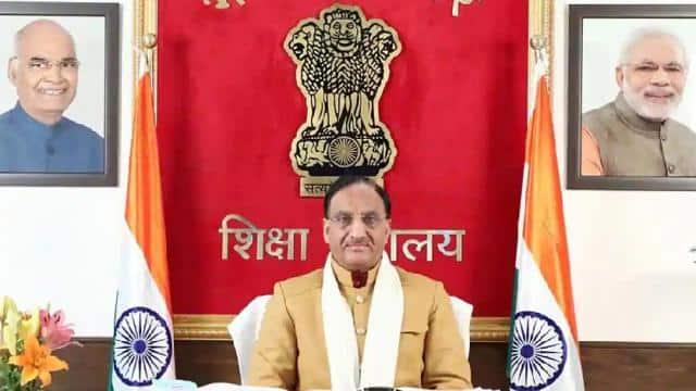 union education minister dr  ramesh pokhriyal  nishank    ani