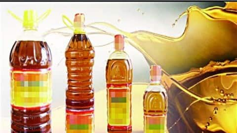 mustard oil at record inflation sold for rs 160 a liter