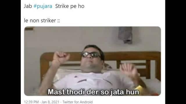 memes of cheteshwar pujara