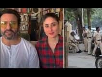 तांडव वेब सीरीज पर विवाद के बीच सैफ के घर के बाहर तैनात दिखी पुलिस