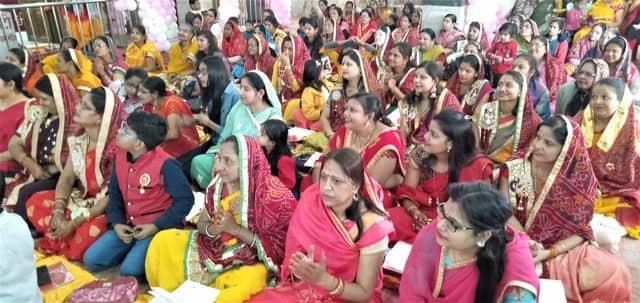 दादी श्याम मंदिर धूमधाम के साथ मना श्री शाकम्भरी जी का छठां वार्षिक महोत्सव