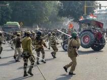 ट्रैक्टर रैली में मरने वाले किसान के शरीर पर नहीं थे गोली के घाव:पुलिस