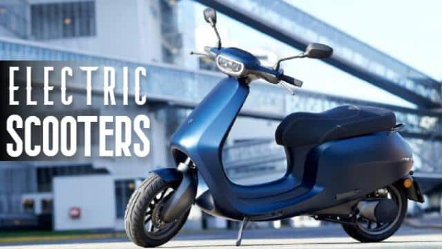 upcoming electric scooters