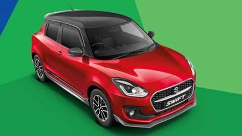 new maruti swift dual tone