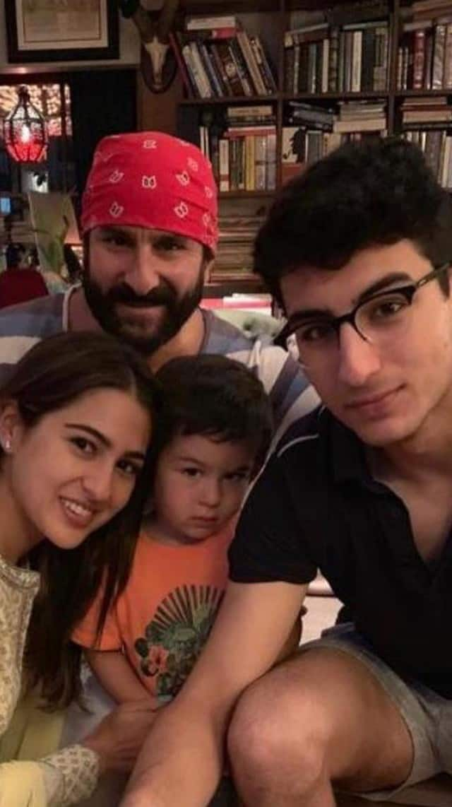 quadfather saif and his children
