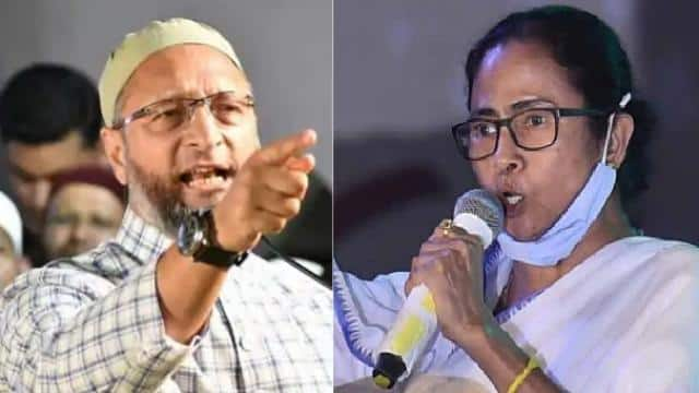 aimim chief asaduddi owaisi slams tmc govt for not allowing his rally in kolkata