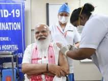 कोरोना का टीका लगवाने वाले विश्व के चुनिंदा नेताओं में शुमार हुए मोदी