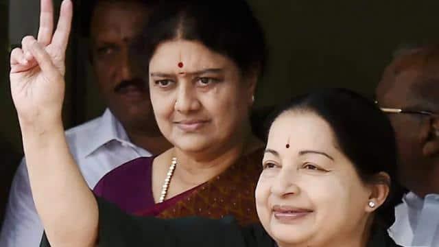 sasikala and jayalalitha