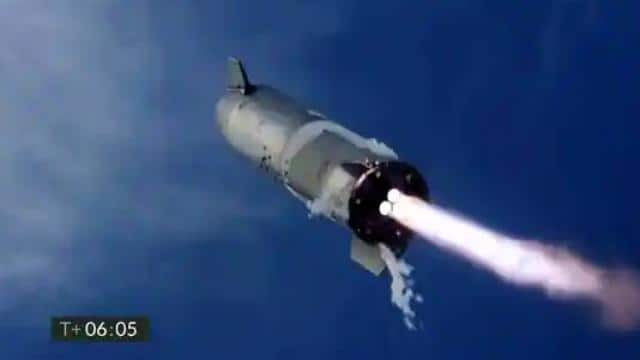 spacex   s biggest rocket manages first successful landing  then explodes