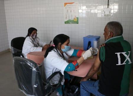 टीकाकरण को लेकर बजुर्गों में उत्साह, अब तक का सबसे अधिक टीकाकरण