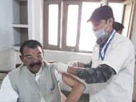 153 बुर्जुगों और बीमारों ने लगवाया टीका