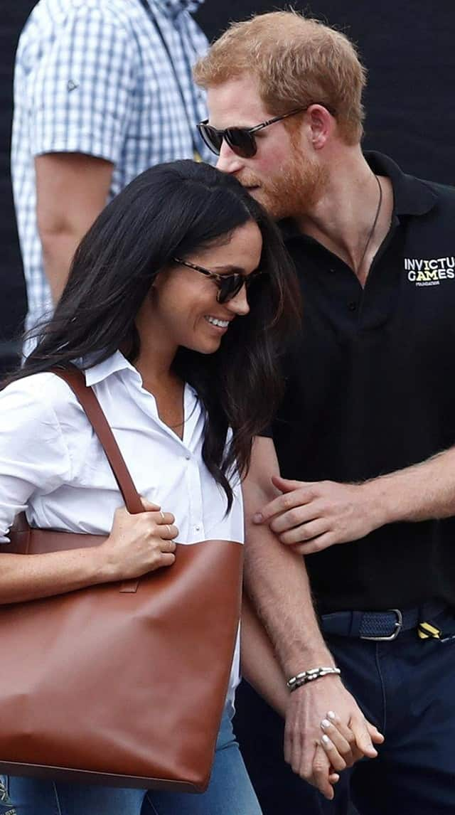 meghan and harry s story
