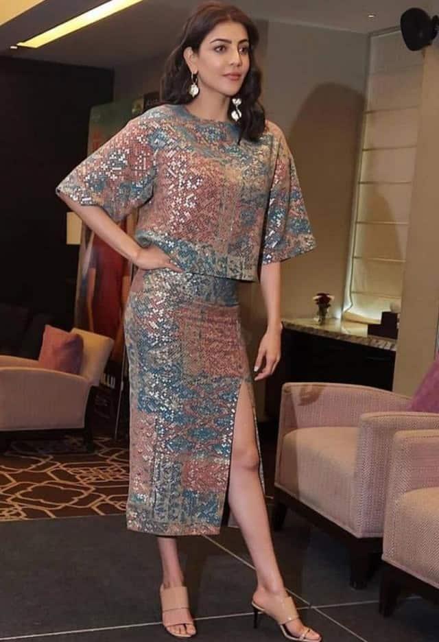 actress kajal aggarwal looks so beautyful and stylish in latest photoshoot