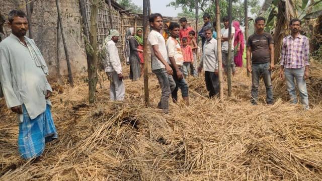 बिहार के अररिया में हादसा: भुट्टा पकाते समय घर में लगी आग, जिंदा जल गए 6 मासूम बच्चे