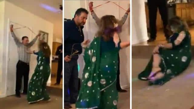 sholay irani dance