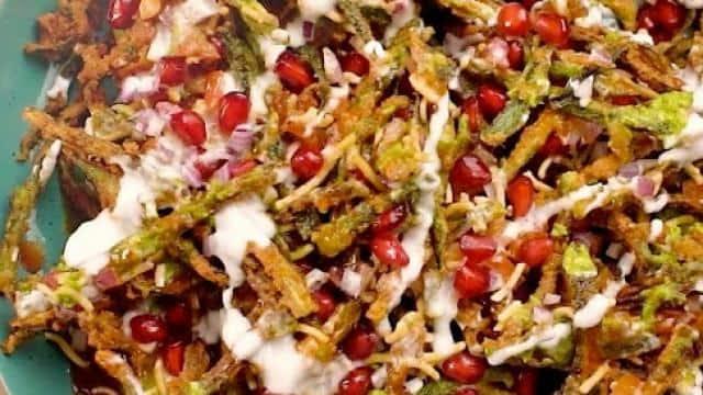 kurkuri bhindi chaat