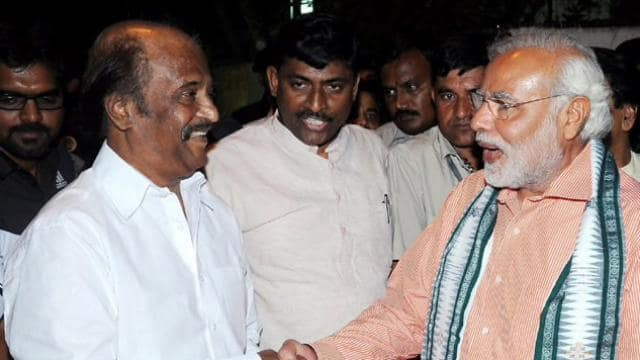 pm modi congratulates rajinikanth for dada saheb phalke award know what he said