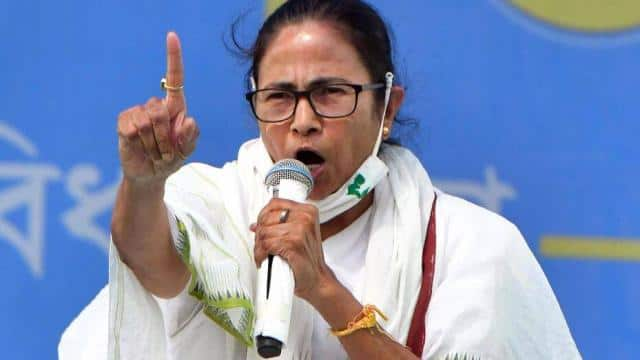 west bengal chief minister and tmc chief mamata banerjee address during an election campaign rally