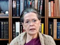sonia gandhi meeting with chief ministers of congress ruled states she said lack of vaccine in the c