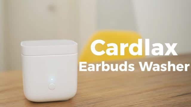cardlax earbuds washer