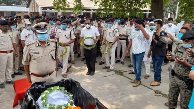 death of hurted mother due to murder of kishanganj thanedar inspector ashwini kumar of bihar in wesh