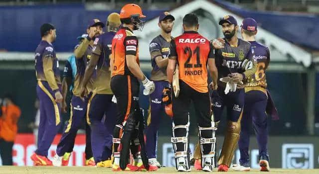 SRHvsKKR: कोलकाता ने सनराइजर्स हैदराबाद को 10 रन से दी शिकस्त