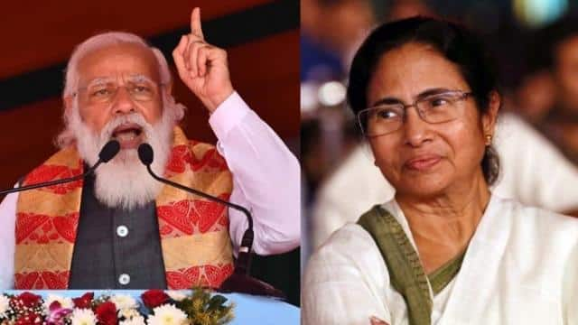 pm modi and mamata banerjee