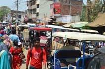 अस्पताल गेट पर दो घंटे जाम, राहगीर हलकान