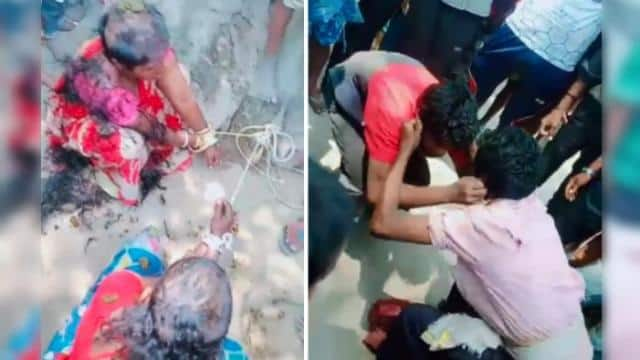 बिहार में मॉब लिंचिंग, बकरी चोरी के आरोप में ग्रामीणों ने 2 महिला समेत 4 को जमकर पीटा, सिर मुंडाया