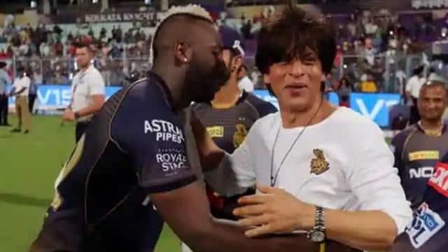 IPL 2021 KKR vs MI: शाहरुख खान के KKR फैन्स से माफी मांगने वाले ट्वीट को लेकर आंद्रे रसेल ने दिया जवाब