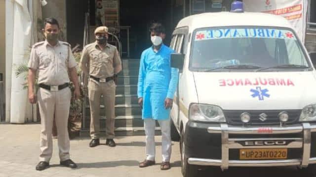 कोरोना से बड़े कसाई: मरीज को 2 KM ले जाने के लिए 8,500 रुपए किराया, एंबुलेंस ड्राइवर अरेस्ट