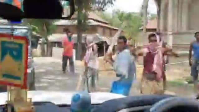 हिंसा की जांच के लिए बंगाल पहुंची होम मिनिस्ट्री की टीम, केंद्रीय मंत्री वी. मुरलीधरन के काफिले पर हमला, टीएमसी पर आरोप