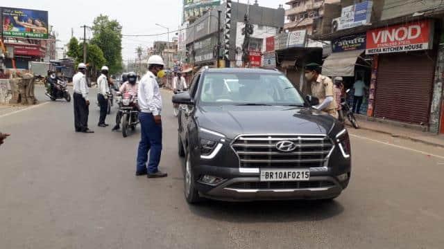 Bihar Lockdown: लॉकडाउन के उल्लंघन में 13 गिरफ्तार, 1106 गाड़ियां जब्त