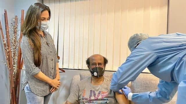 रजनीकांत ने लगवाई कोरोना वैक्सीन, गलत वजह से सोशल मीडिया यूजर्स करने लगे ट्रोल