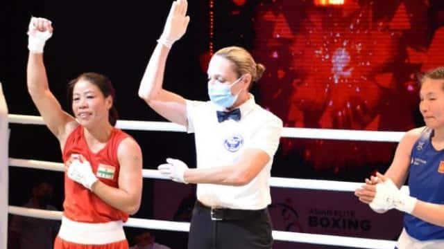 एशियाई चैंपियनशिप के फाइनल में पहुंचीं एमसी मैरीकॉम और साक्षी, मोनिका को कांस्य से करना पड़ा संतोष